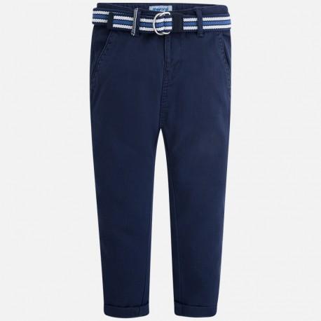 Mayoral 3532-87 Spodnie klasyczne z paskiem kolor Lazur