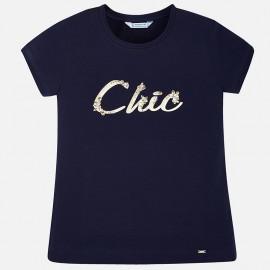 Mayoral 854-41 Koszulka dziewczęca kolor Granatowy