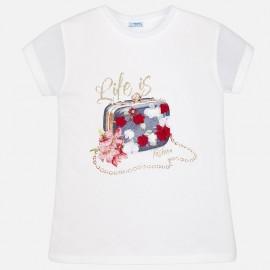 Mayoral 6004-97 Koszulka dziewczęca kolor Granatowy