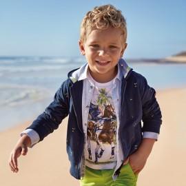 Mayoral 3466-59 Bluza chłopięca rozpinana kolor Granatowy