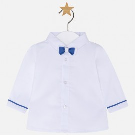 Mayoral 1112-40 Koszula dla chłopca z muszką kolor Biały