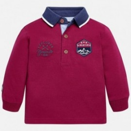 Mayoral 2123-78 Koszulka dla chłopaka polo kolor bordo