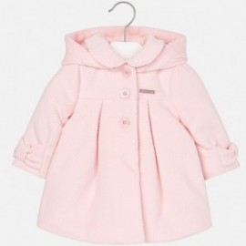 Mayoral 2475-32 Płaszcz dla dziewczynki sztruks kolor Różowy
