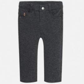 Mayoral 2563-80 Spodnie chłopięce 5 kieszeni kolor szary