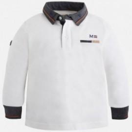 Mayoral 4105-57 Koszulka chłopięca polo kolor śmietanka