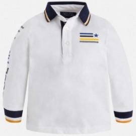 Mayoral 4119-16 Koszulka polo chłopięca kolor śmietanka