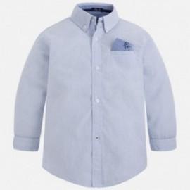 Mayoral 4141-56 Koszula chłopięca z długim rękawem kolor Błękitny