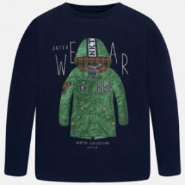 Mayoral 7007-15 Koszulka chłopięca z długim rękawem kolor Granat