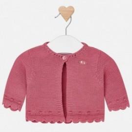 Mayoral 312-84 Sweterek dziewczęcy rozpinany kolor Róż
