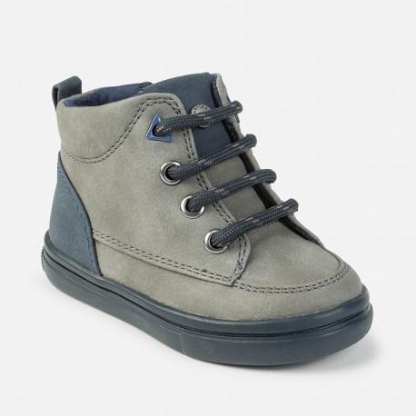 Mayoral 42756-10 Buty chłopięce trzewiki kolor Szary