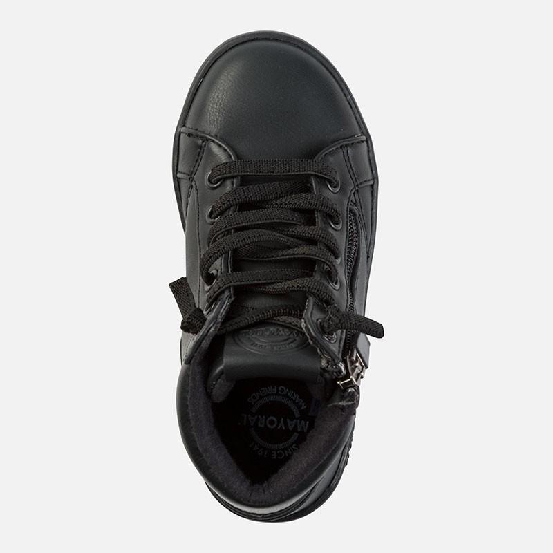 171be889 Mayoral 44799-18 Buty chłopięce sportowe kolor Czarny