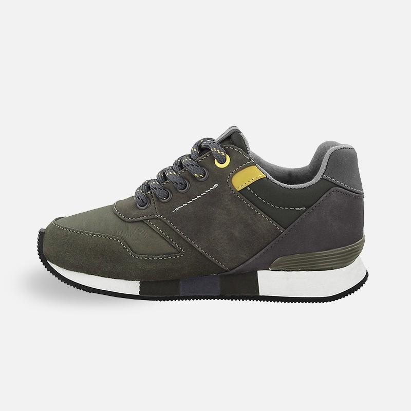 Mayoral 46803 27 Buty chłopięce adidas kolor khaki