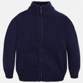 Mayoral 327-85 Bluza trykot basic kolor Granatowy