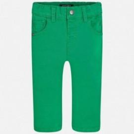 Mayoral 501-76 Spodnie serża z kieszeniami kolor Edamame