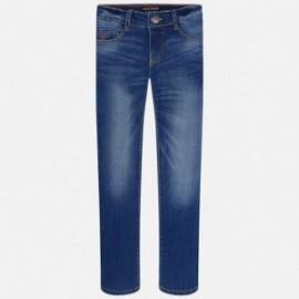 Mayoral 516-29 Spodnie chłopięce jeans slim fit basic kolor Basic