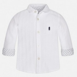 Mayoral 2137-56 Koszula d/r splot pika kolor Biały
