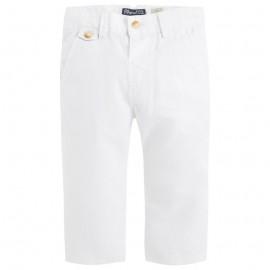 Spodnie Mayoral 5524 len biały
