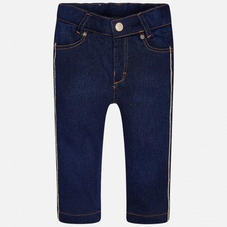 Mayoral 2579-5 Spodnie dziewczęce jeans kolor granat