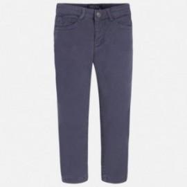 Mayoral 4535-69 Spodnie chłopięce z podszewką kolor Grafit