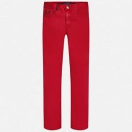 Mayoral 7511-25 Spodnie chłopięce z serży 5 kieszeni kolor Jagoda