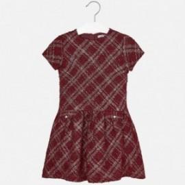 Mayoral 7925-21 Sukienka dziewczęca fantazja kolor Wino