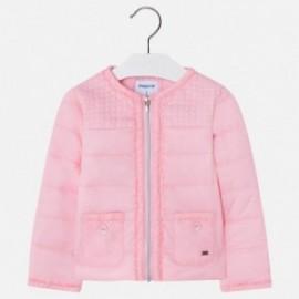 Mayoral 3424-68 Wiatrówka dziewczęca kolor Różowy