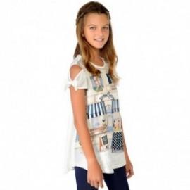 Mayoral 6716-35 Komplet dziewczęcy leginsy kolor Granatowy