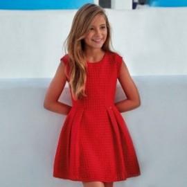 Mayoral 6944-29 Sukienka dziewczęca kolor Czerwony