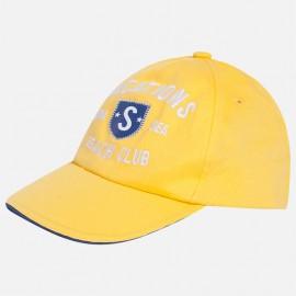 Mayoral 10377-77 Czapka chłopięca haft kolor żółty