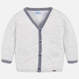 Mayoral 1326-18 Sweter chłopięcy kardigan kolor popiel