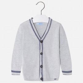 Mayoral 3308-20 Sweter chłopięcy zapinany elegancki kolor szary