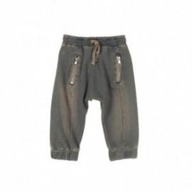 Boboli 335034-7322 Spodnie dla chłopca dresowe kolor grafit