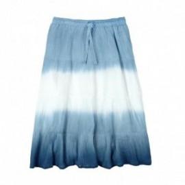 Boboli 475017-2411 Spódnica dla dziewczynki długa cieniowana kolor niebieski