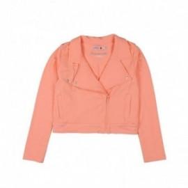 Boboli 725521-3578 Kurtka dla dziewczynki ramoneska kolor brzoskwinia
