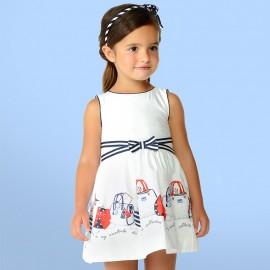 Mayoral 3948-51 Sukienka dziewczęca torebki kolor Granatowy