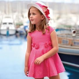Mayoral 3946-29 Sukienka dziewczęca kolor Fuksja