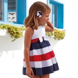 Mayoral 3952-58 Sukienka dziewczęca kolor Granatowy