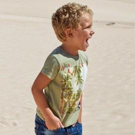 Mayoral 3083-15 Koszulka chłopięca krótki rękaw kolor Nopal