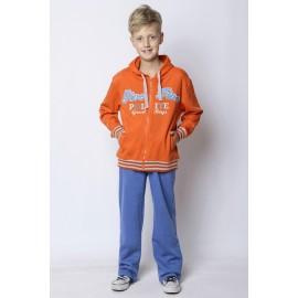 GF5 Bluza chłopięca BBU-14-51-R8 kolor Pomarańczowy