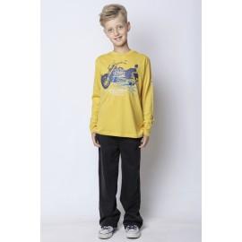 GF5 Koszulka chłopięca BBL-14-51-Y17 kolor Żółty