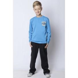 GF5 Koszulka chłopięca BBL-14-52-N28 kolor Jasny niebieski