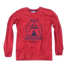 GF5 koszulka dla chłopca BBL-16-15-R9 kolor Red