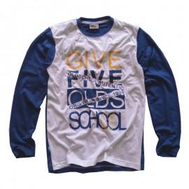 GF5 koszulka dla chłopca BBL-17-01-N1 kolor niebieski