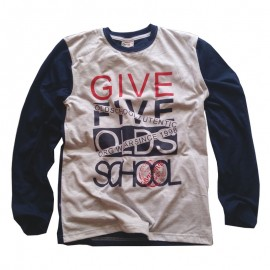 GF5 koszulka dla chłopca BBL-17-01-N27 kolor granat