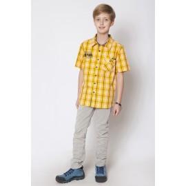 GF5 Koszula chłopięca BSH-15-01-Y16 kolor Żółty