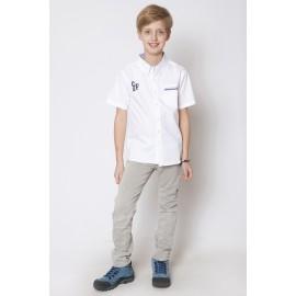 GF5 Koszula chłopięca BSH-15-02-W6 kolor Biały