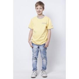GF5 Koszulka chłopięca BTS-14-07-Y15 kolor Blady żółty