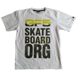 GF5 Koszulka chłopięca BTS-17-03-W6 kolor biały