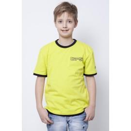 GF5 Koszulka chłopięca BTS-14-07-Z24 kolor Limonkowy