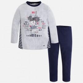 Mayoral 4743-77 Komplet dziewczęcy bluza i leginsy kolor granat